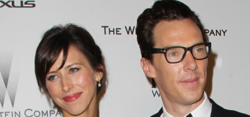 Is Benedict Cumberbatch going to marry Sophie Hunter next month?