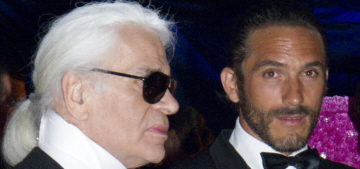 The NYT profiled Karl Lagerfeld & his muse Brad Kroenig, the result is amazing