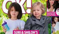New cover of OK!: Shiloh and Suri's playdate, but where is Zahara?