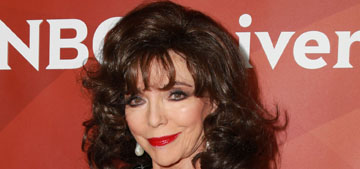 Joan Collins: Globes fashion showed a 'sheep mentality among actresses'