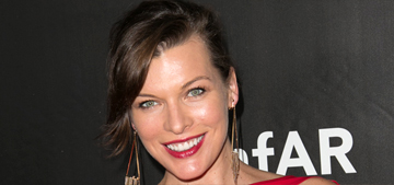 Pregnant Milla Jovovich: 'I'm really proud of myself for not gaining' more weight
