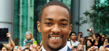 Anthony Mackie was tricked into saying that racial profiling stuff, you guys