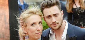 Sam Taylor Johnson on her 23-year age gap with her husband: 'F–k off'
