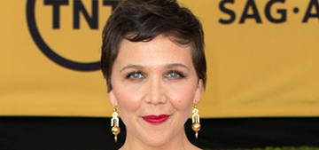 Maggie Gyllenhaal in white Thakoon at the SAGs: gorgeous or frumpy?