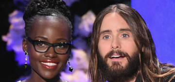 Lupita Nyong'o & K'Naan are over, she was flirting a lot with Jared Leto