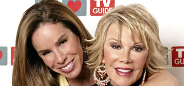 Melissa Rivers sues clinic and five doctors involved with her mother's fatal surgery
