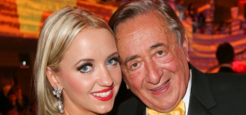 An 82-yr-old billionaire married a 25-yr-old who swears money's 'not important'