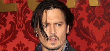 Page Six: Johnny Depp is 'devastated' over his career & wants to dump his agent