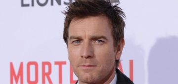 Ewan McGregor throws nerd-shade on 'The Force Awakens' hilted lightsabers