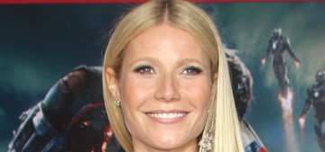 Gwyneth Paltrow gently reminds the peasants to steam-clean their 'business'