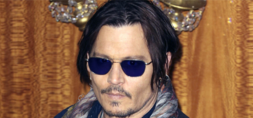 Johnny Depp is so bored of 'Mortdecai' that he made up a chupacabra attack