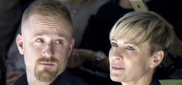 Robin Wright & Ben Foster's engagement is back on after their Nov. breakup