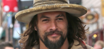 Jason Momoa on Aquaman: 'It's cool that there's a brown-skinned superhero'