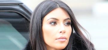 Kim Kardashian's over-the-top, all-black ensemble: Darth Vader realness?