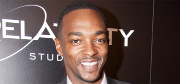 Anthony Mackie on criticism: 'With 150 characters, everybody's a thug'