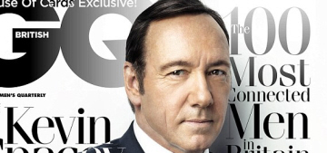 Kevin Spacey: 'People who are really happy with themselves are f–king boring'
