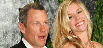 Lance Armstrong let his girlfriend take the fall for his Christmas hit & runs