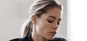 Doutzen Kroes was rejected from casting calls for being 'too pretty'