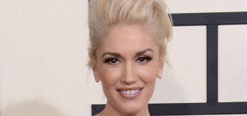 Gwen Stefani in custom Versace: one of the best looks of the Grammys?