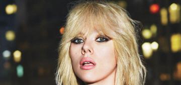 Scarlett Johansson does a high-fashion mullet for W Mag: hot or tragic?
