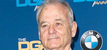 Bill Murray flirted hard with Catherine Deneuve, who wasn't having it?