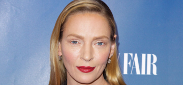 Did Uma Thurman recently go overboard with Botox & fillers?