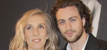 Aaron Johnson, 18, proposed to Sam Taylor Wood, 41, before they even kissed