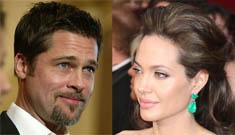 Angelina Jolie encourages Brad Pitt's political hopes