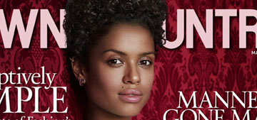 Gugu Mbatha-Raw Covers Town & Country: gorgeous or underdone?