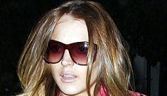 Lindsay Lohan throws temper tantrum, leaves bodyguard in Las Vegas