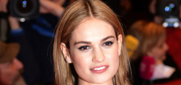 Did Disney Photoshop the hell out of Lily James' Cinderella-waist?