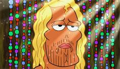 """Johnny Depp's guest appearance on Spongebob"" morning links"