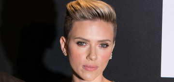 Scarlett Johansson in body-con gold at the Tom Ford event: hot or boring?