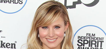 Kristen Bell in Andrew Gn at the Spirit Awards: bizarre or cute?