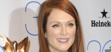 Julianne Moore wins in Dior at the Spirit Awards: adorable or not that great?