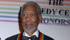 Morgan Freeman got dumped by his mistress