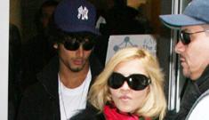 Madonna & Jesus Luz move in together, Madonna cooks for him