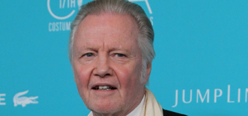 Jon Voight is still mad that Angelina Jolie wasn't nominated for an Oscar