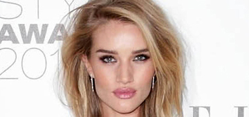 Rosie Huntington-Whitely at the Elle Style Awards: fierce or try hard?