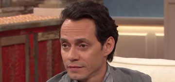 Marc Anthony: My dad said, 'Son, we're both ugly. Work on your personality'