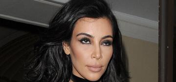 Kim Kardashian's Julien Macdonald onesie at the BRIT Awards: tragic or cute?