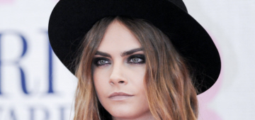 """Cara Delevingne wore Saint Laurent at the BRIT Awards"" links"