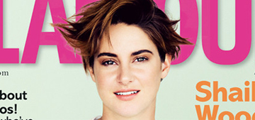 Shailene Woodley: 'In school, they talk abstinence, which doesn't work'