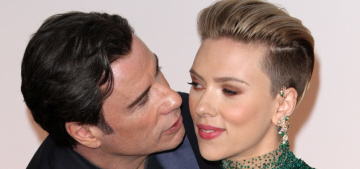ScarJo: 'There is nothing strange, creepy or inappropriate about John Travolta'