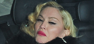 Madonna admits she has 'a little bit of whiplash' from her BRIT Awards fall