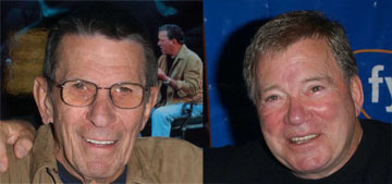 William Shatner: 'I chose to celebrate life by going to the Red Cross gathering'