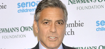 George Clooney attends charity event solo, jokes 'My wife's the smart one'