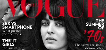 Aishwarya Rai shows off her new blunt bangs on Vogue India: hot or awful?