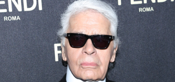 Karl Lagerfeld defends designing fur lines, 'I think a butcher shop is even worse'