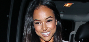 Karrueche Tran really wants you to know that she's done with Chris Brown